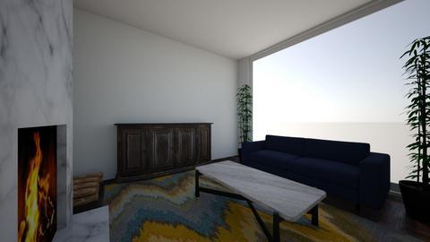 Dream - Living room  - by GoldenEarth