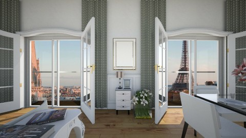 parisian inspo - Glamour - Living room  - by Muoz Rebeca