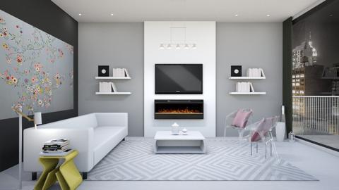 Takashi Murakami - Eclectic - Living room  - by fashionistafalida