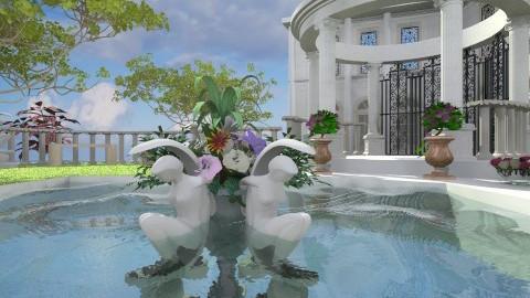 Roman Garden - Classic - Garden  - by Bibiche