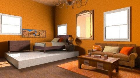 ORANGE - Eclectic - Bedroom - by 89dudes