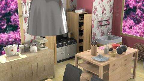 Kitchen - Country - Kitchen  - by HazelMP