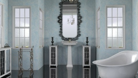 capella - Vintage - Bathroom  - by trees designs