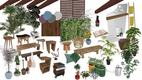 backyard mood board - by fred20