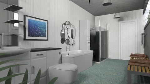 Container Living 3 - Eclectic - Bathroom - by Theadora