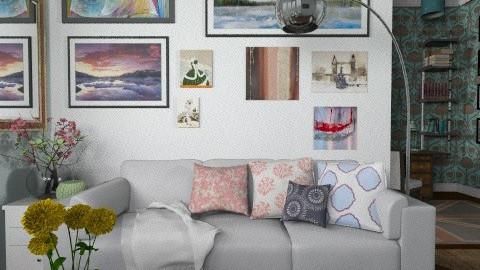 City apartment - Modern - Living room  - by vovisanija
