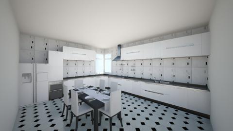 Bucatarie 12 - Rustic - Kitchen  - by Ionut Corbu