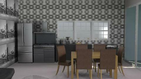 new kitchen - Classic - Kitchen  - by kingtian