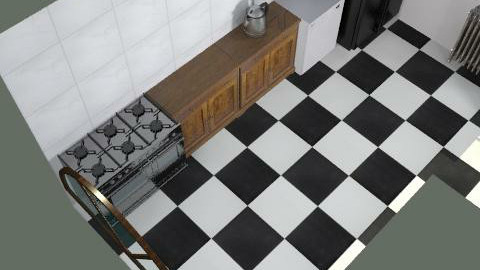 rem rom3 - Country - Kitchen  - by lilus