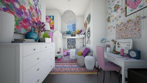 Lilian Dorm - Bedroom - by CreativeCE