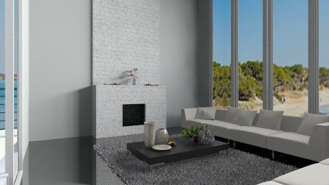 Blacknwhite copy of frien - Minimal - Living room  - by rossyra1