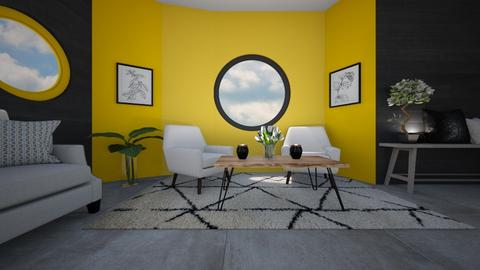 Bright  - Living room  - by Meghan White