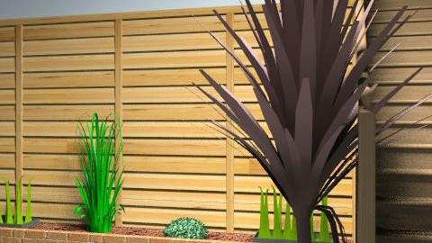 Garden - Modern - Garden - by zenobiadickson