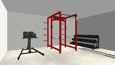 Garage Gym Layout 1 - by rogue_e5176d73f2f042d3044b13633b49e