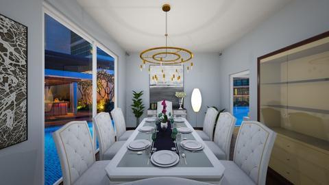 Modern LuxuryContemporary - Dining room  - by anirah