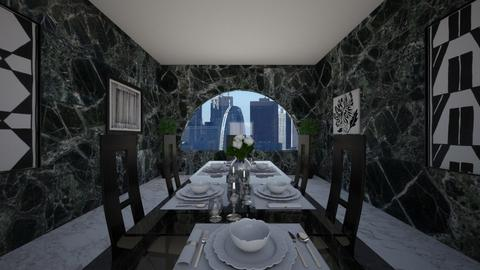 fancy dining room - Glamour - Dining room  - by 00l0ps