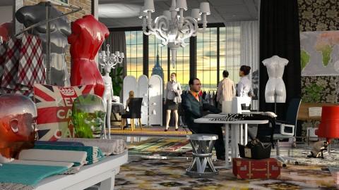 Jaya fashion studio 2 - Modern - Office  - by anchajaya