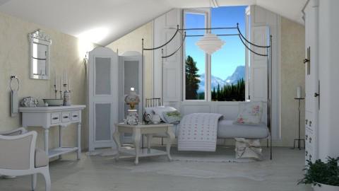 Romantic - Vintage - Bedroom  - by ZsuzsannaCs