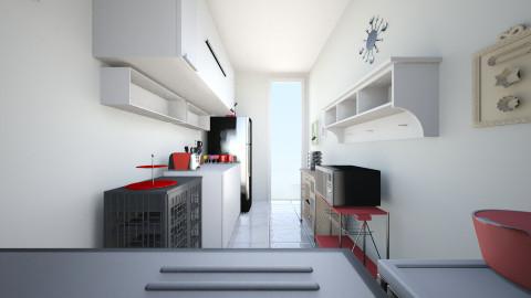 1 COZINHA SHIRLEY - Classic - Kitchen  - by Gessy Ynhasp
