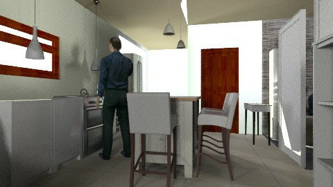 kitchen - Minimal - Kitchen  - by bidago