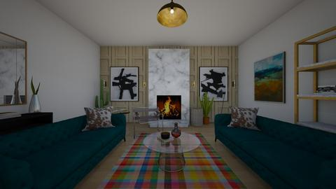 interior design 1 - Eclectic - Living room  - by phopkins