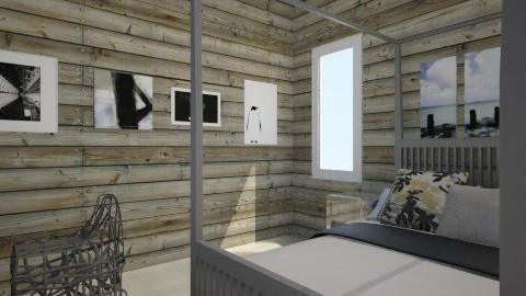 first room - Modern - Bedroom  - by fluffyunicornsrbae