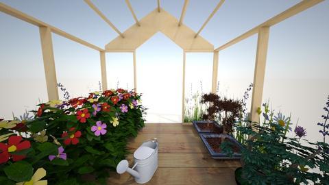 Green House - Modern - Garden  - by yassssss_boi