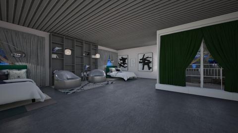 BEDROOM CONTEST  - Bedroom  - by nitya_avvari