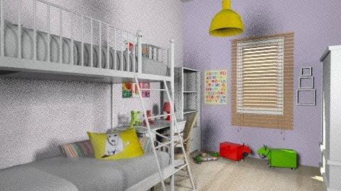Lia_Itay_93E - Classic - Kids room  - by noga boyarsky