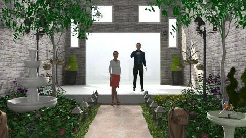 Backyard - Modern - Garden  - by Mary Lee