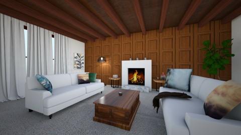 Wood Babe 01 - Modern - Living room - by unicorn4325