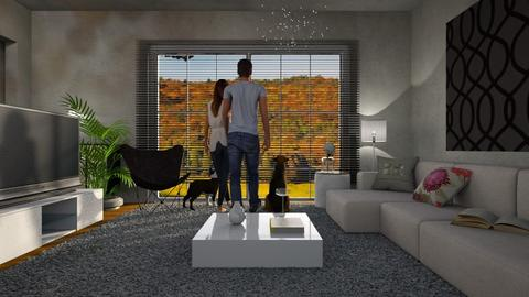 Quarantine - Living room - by Kamila Nunes Monteiro