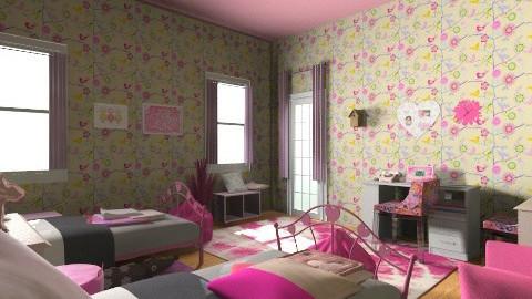 pinki - Bedroom - by lisyy