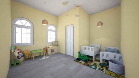 Toddler Bedroom - Classic - Kids room  - by Chicken202