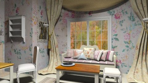 Provence - Living room  - by cutypie1