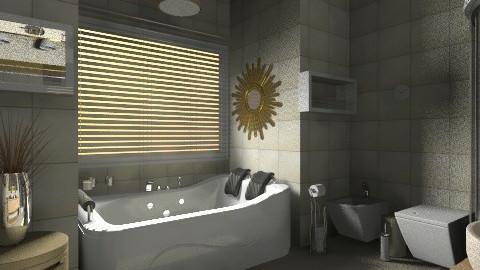 calme - Glamour - Bathroom  - by Hanane Haidoune