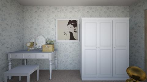 mybedroom final - Classic - Bedroom  - by dang0430