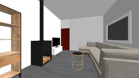 Woonkamer - Living room  - by Schoentje96
