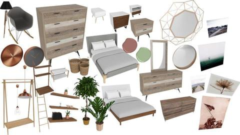 first bedroom moodboard - by _Bootje_