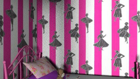First design - Glamour - Kids room  - by fashiongrl