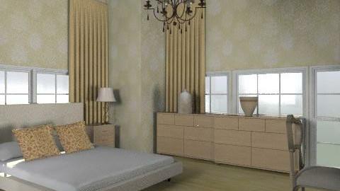 honeymoon 2 - Glamour - Bedroom  - by trees designs