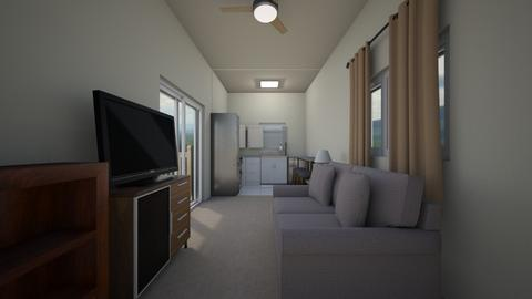 Container Home - Living room  - by mspence03