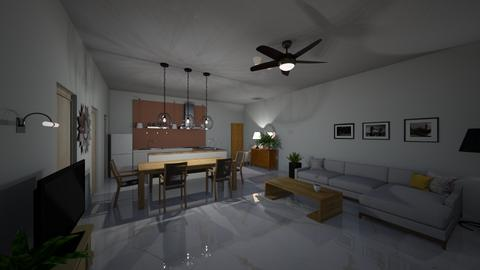 draw1 - Living room  - by zieybasir