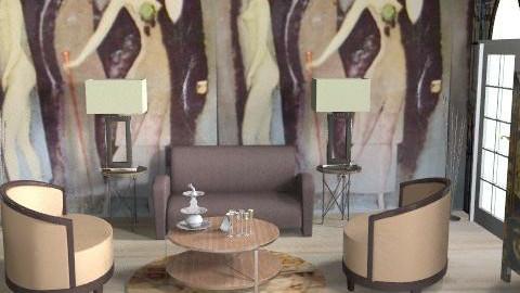 Grandeco - Retro - Living room  - by FRANKHAM