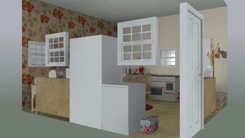 country family kitchen - Country - Kitchen  - by user lol 33