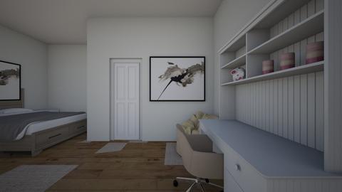 bedroom - Modern - Bedroom  - by ely_