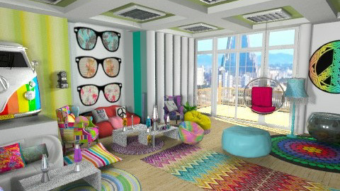 Hippy - Living room - by norli99