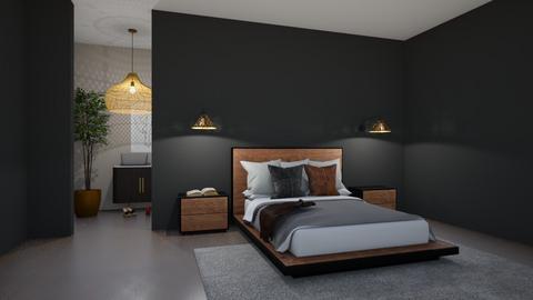 Dark n Moody No3 - Bedroom  - by SunflowerStudios
