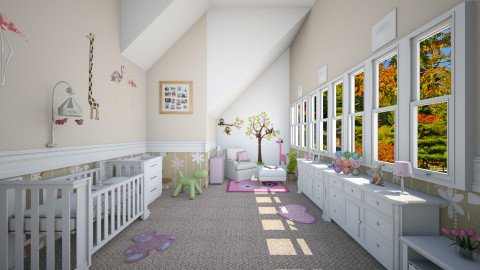 Baby room - Kids room  - by Linda Koen_326