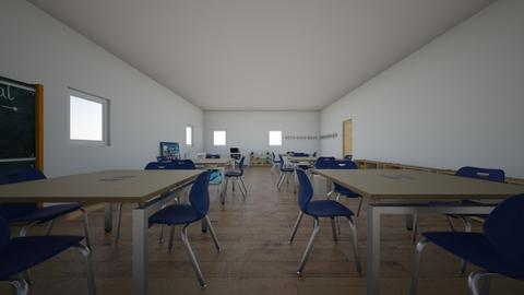 MI AULA 08 - Kids room  - by korice